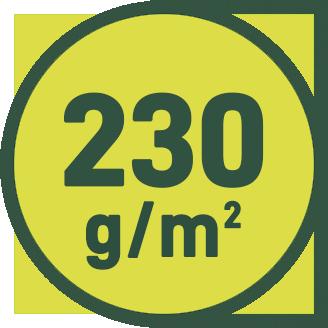 230 g/m2