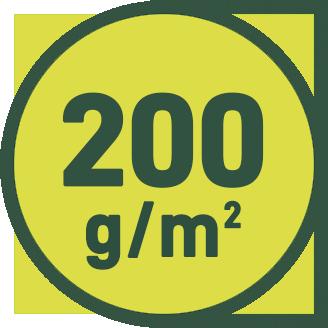 200 g/m2