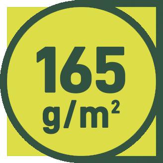 165 g/m2