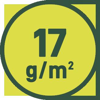 17 g/m2