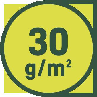30 g/m2