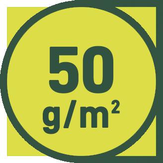 50 g/m2