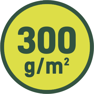 300 g/m2