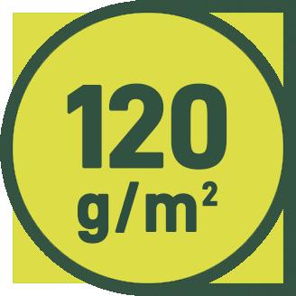 120 g/m2
