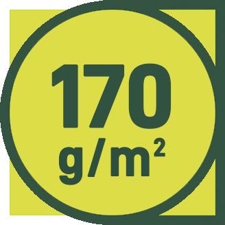 170 g/m2