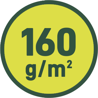 160 g/m2