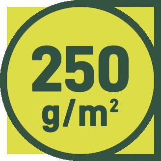 250 g/m2