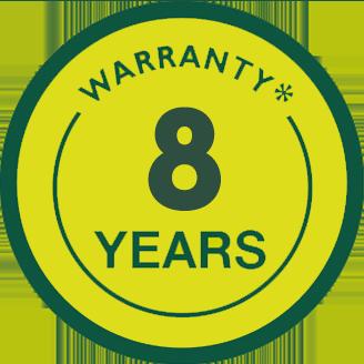 Garantía 8 año