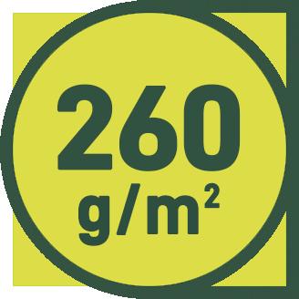 260 g/m2