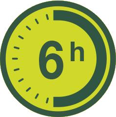 6h de autonomía