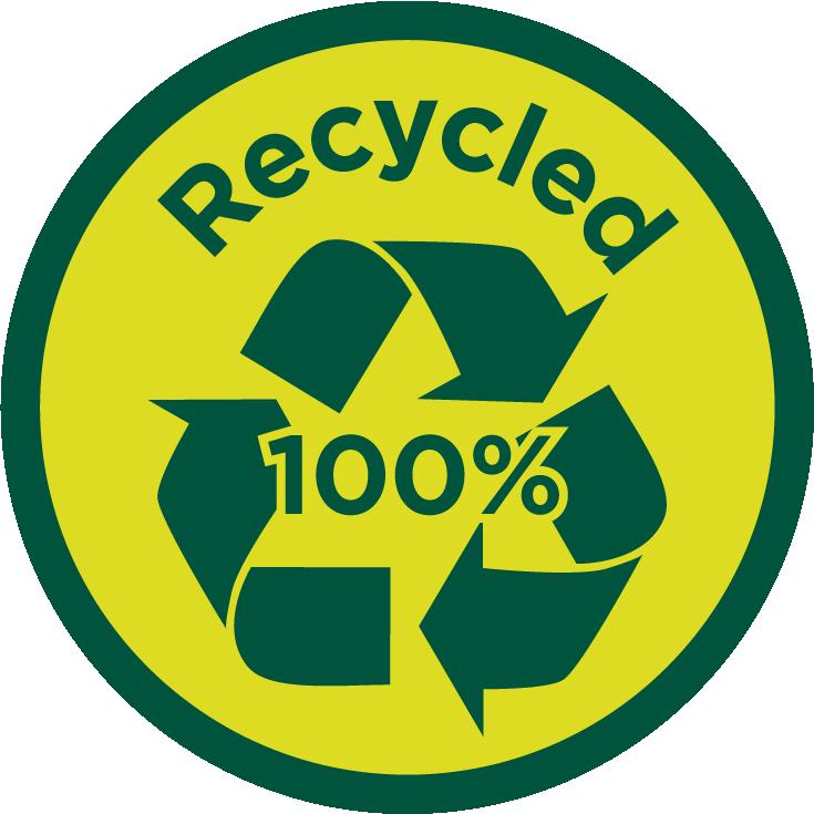 100% reciclado