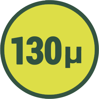 130 µ