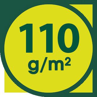 110 g/m2