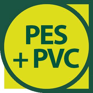 PES + PVC