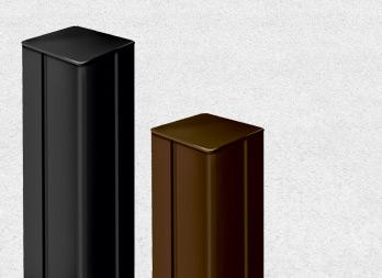 Alupost poteaux pour panneaux nortene - Poteau aluminium pour cloture ...