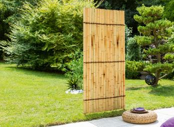 hokkaido panneau en bambou traditionnel nortene. Black Bedroom Furniture Sets. Home Design Ideas