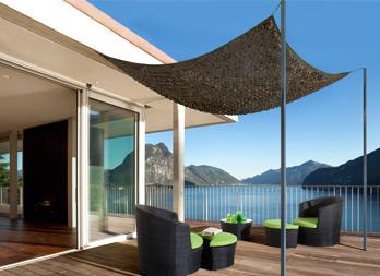 sahara filet d 39 ombrage bicolore r versible nortene. Black Bedroom Furniture Sets. Home Design Ideas