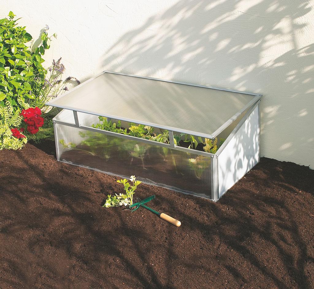 Nursy ch ssis ch ssis en polycarbonate et cadre aluminium nortene - Chassis de jardin en polycarbonate ...